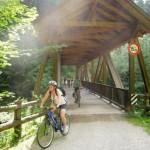 Ponte sul fiume Rienza